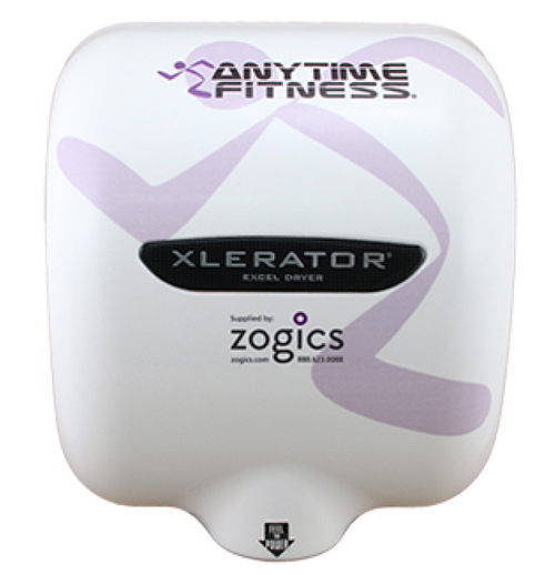 XL-SI Custom Anytime Fitness XLERATOR Hand Dryer