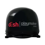 DISH Playmaker Dual Portable Satellite TV Antenna - Black