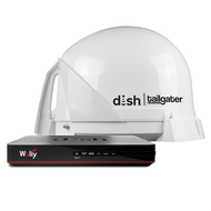 DISH Tailgater 4 Satellite Antenna Bundle with Wally