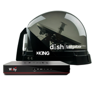 DISH Tailgater Pro Premium Satellite Antenna Bundle with Wally