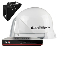 DISH Tailgater 4 Antenna Trucking Bundle with Wally