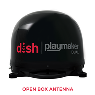 DISH Playmaker Dual Portable Satellite TV Antenna - Black - Open Box