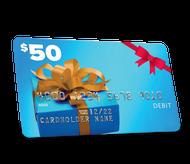 $50 Visa Prepaid Card (Mail-in Rebate)