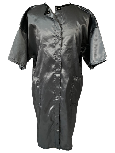 Salon Smocks in Silver