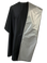 Black and silver reversible chemical capes