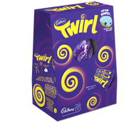 Large Twirl Easter Egg 325g