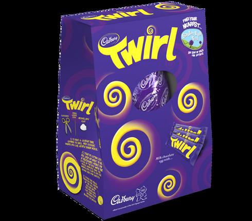 Large Twirl Easter Egg 325g