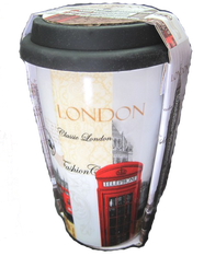 travel mugs London skyline