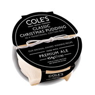 Coles Classic Christmas Pudding Old Growler Ale