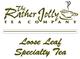 broad leaf white tea leaf tea logo