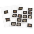 Lighthouse Encap sheets for Quadrum coin capsules