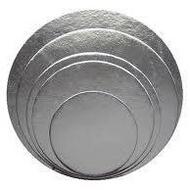Silver Round Foil Cake Boards
