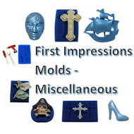 Themed Silicone Moulds - First Impressions