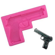 Pistol Silicone Mold