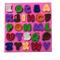 Button Font Alphabet Silicone
