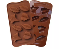 Assorted Leaves Silicone Chocolate Mould