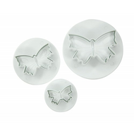 Butterfly 3pc Plunger Cutter Set