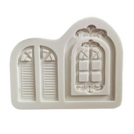 Windows 2pc Silicone Mould