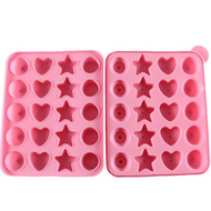 Cake Pop Silicone Mould - Various Shapes