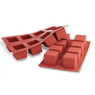 Square Blocks 8 Cavity Silicone Mould