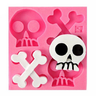 Skull & Bones Silicone Mould