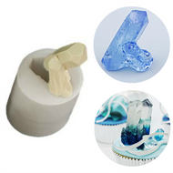 3D Crystal - Large Tall Silicone Mould