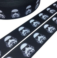 Star Wars Storm Trooper Novelty Printed Ribbon 22mm