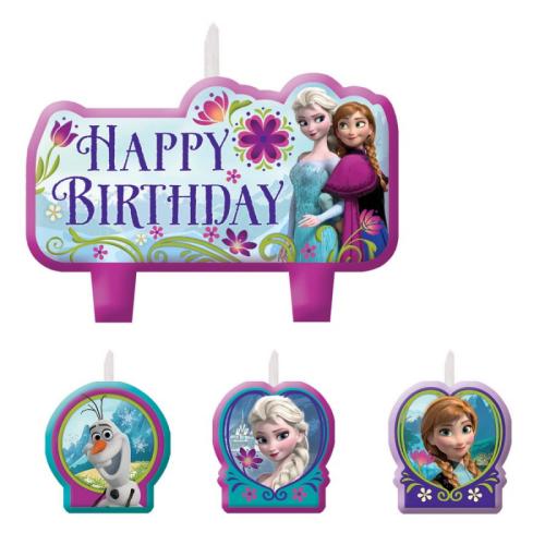 Disney Frozen Candles