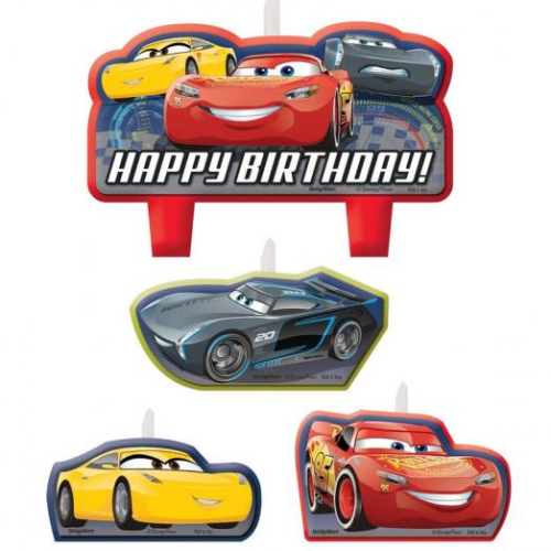 Disney Cars 3 Cake Candle Topper