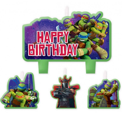 TMNT Birthday Candles