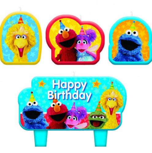 Sesame Street Birthday Candles