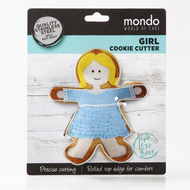 Mondo Girl Cookie Cutter