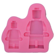 Lego Man Mold 2 pc