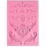 Flower Swag Silicone Mould 6pc