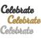 Cake Topper Celebrate Glitter