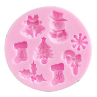 Mini Christmas Silicone Mold