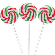 Swirl Lollipop Christmas Small