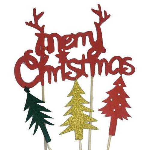 Merry Christmas Festive Topper Pack