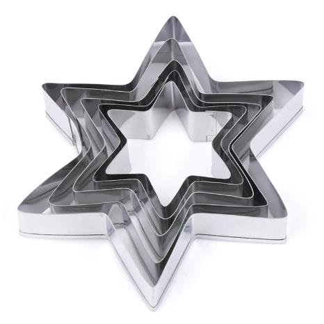 Star Cutter Tin Plate 5pc Set