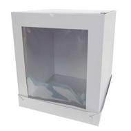 "12"" Cake Box 14'' Tall Front Window"