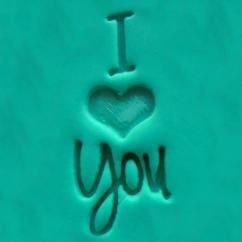 """I Love You"" Cookie Embosser"