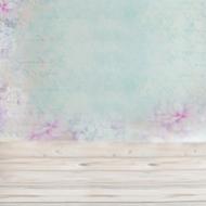 Backdrop 90x120cm Turquoise & Purple