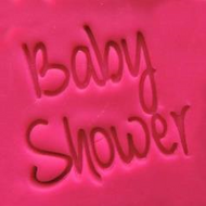 'Baby Shower' EMBOSSER