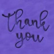 'Thank You' EMBOSSER