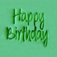 'Happy Birthday' EMBOSSER