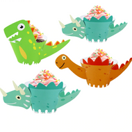 Jurassic World Dinos Cupcake Wraps 12pc