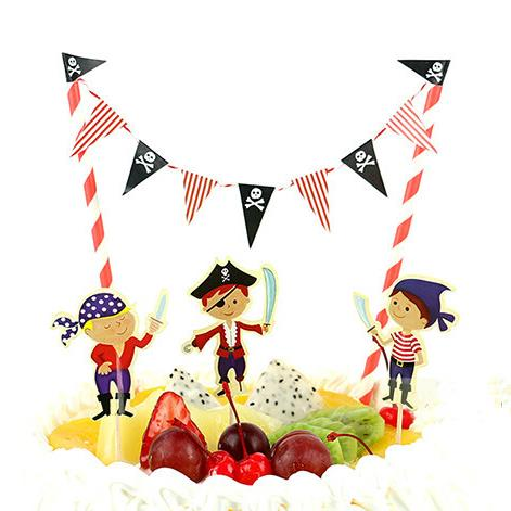 Pirate Bunting & 4 Themed Picks