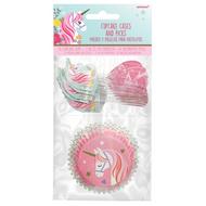 Cupcake Cases & Picks Amscan - Unicorn