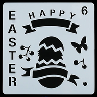 Easter Stencil - Style 6