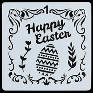 Easter Stencil - Style 1